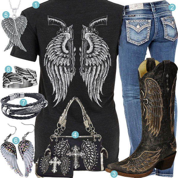 Angel Wings Outfit
