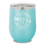 Fresh Brewed Sweet Tea 12oz Stemless Wine Cup