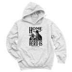 Home Is Where My Herd Is Hoodies & Long Sleeves