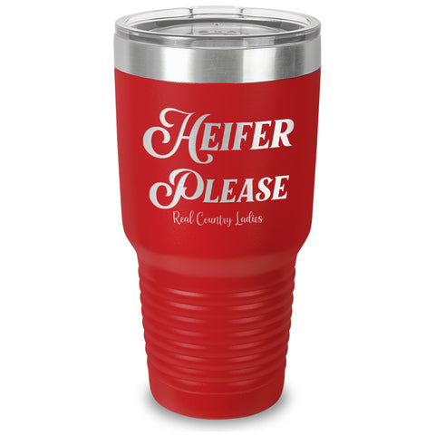 Heifer Please Laser Etched Tumbler