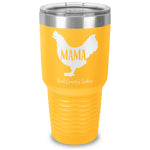 Mama Hen Laser Etched Tumbler