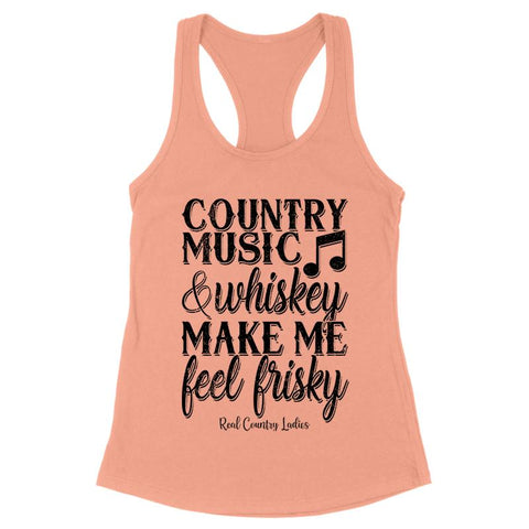 Country Music And Whiskey Front Apparel