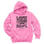 Country Ass Shit Hoodies & Long Sleeves