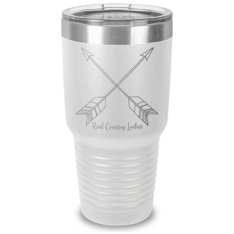 Cute Arrows Laser Etched Tumbler