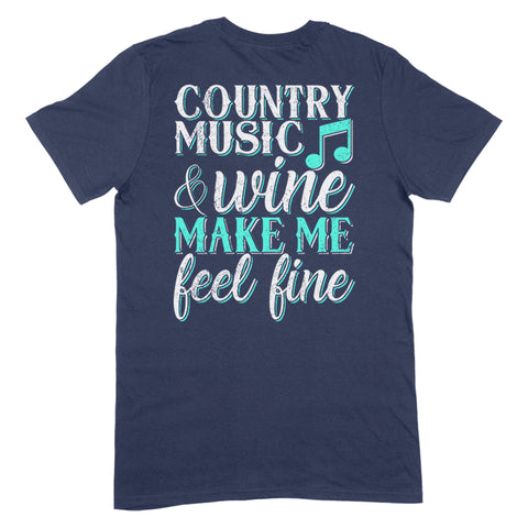Country Music And Wine Apparel