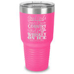 $12 SPECIAL - Whiskey On Ice Laser Etched Tumbler
