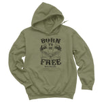 Born To Be Free Hoodies & Long Sleeves
