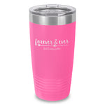 Forever And Ever Amen Laser Etched Tumbler