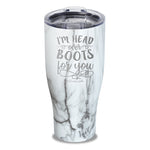 I'm Head Over Boots For You Laser Etched Tumbler