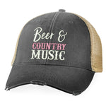 Beer And Country Music Hat