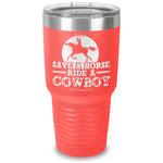 Save A Horse Ride A Cowboy Laser Etched Tumbler
