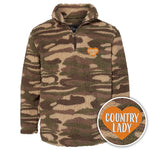 Country Lady Camo Sherpa