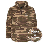 Cuter In Camo Camo Sherpa