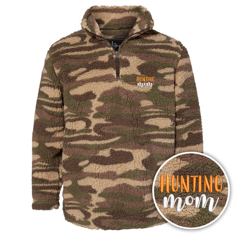 Hunting Mom Camo Sherpa