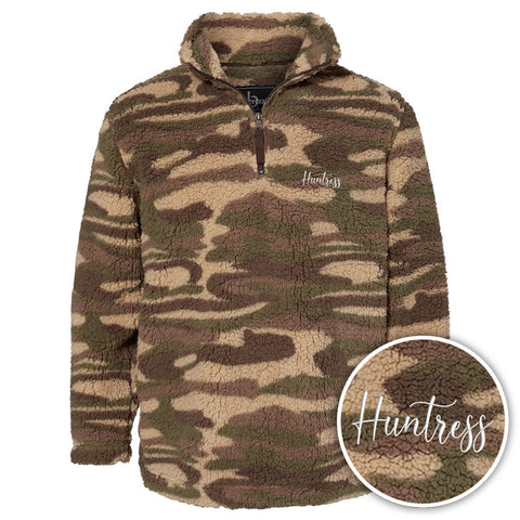 Huntress Camo Sherpa