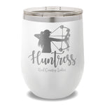 Huntress Bow 12oz Stemless Wine Cup