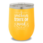 Southern State Of Mind 12oz Stemless Wine Cup