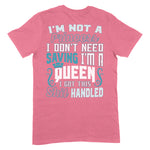 I'm Not A Princess Apparel