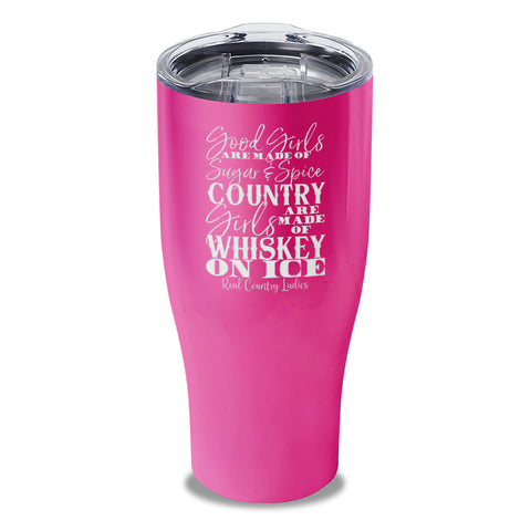 Whiskey On Ice Laser Etched Tumbler