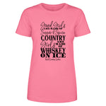 $12 SPECIAL - Whiskey On Ice Front Apparel