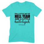 Hell Yeah And Hallelujah Front Apparel