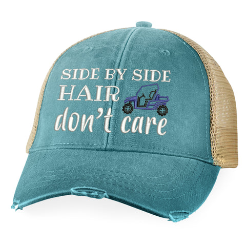 Side By Side Hair Don't Care Hat