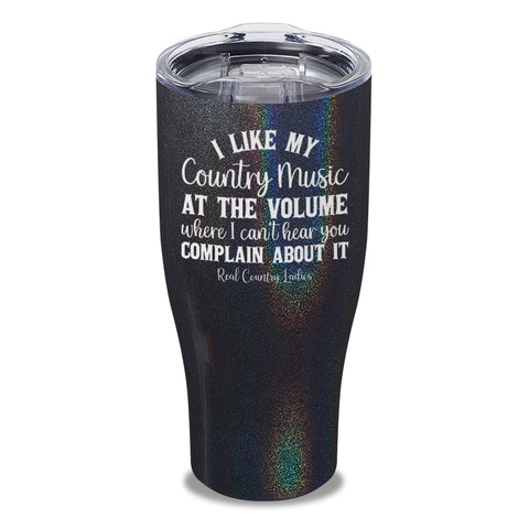 I Like My Country Music Laser Etched Tumbler