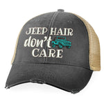 Jeep Hair Don't Care Hat