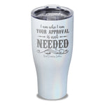 I Am Who I Am Laser Etched Tumbler