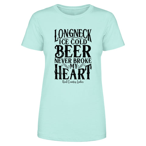 Longneck Ice Cold Beer Front Apparel