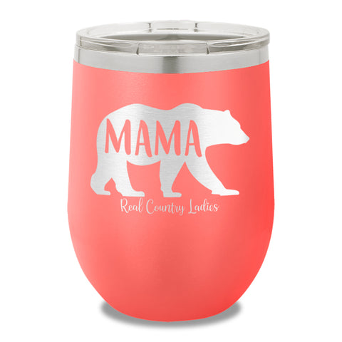 Mama Bear 12oz Stemless Wine Cup