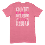 Country Ladies Don't Retreat Apparel
