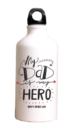 my dad is my hero - Termos Acero