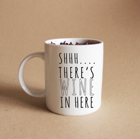 SHHH... There is wine in here