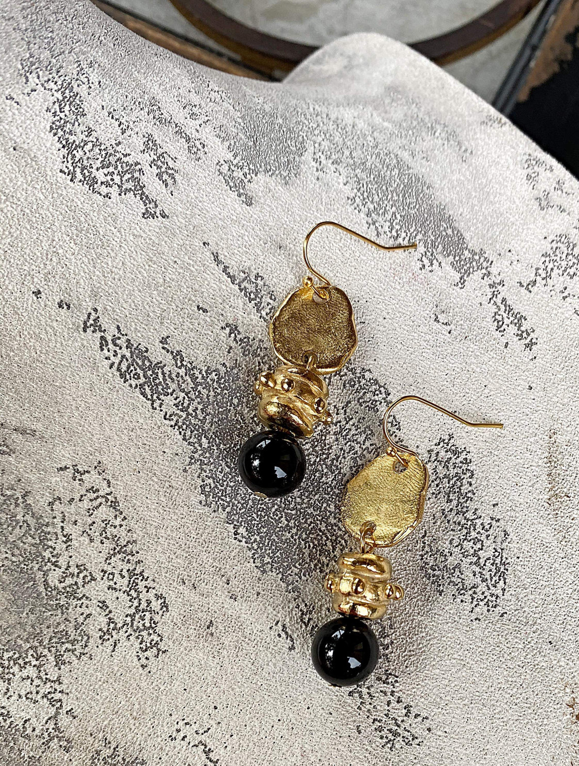Eclipse Collection - Earrings - Black Onyx