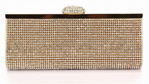 Diamond Dust Clutch Bag