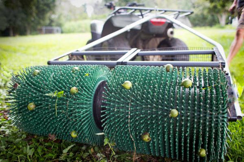 Pick Up Dog Poop with the Macadamia Nut Bag-A-Nut Harvester