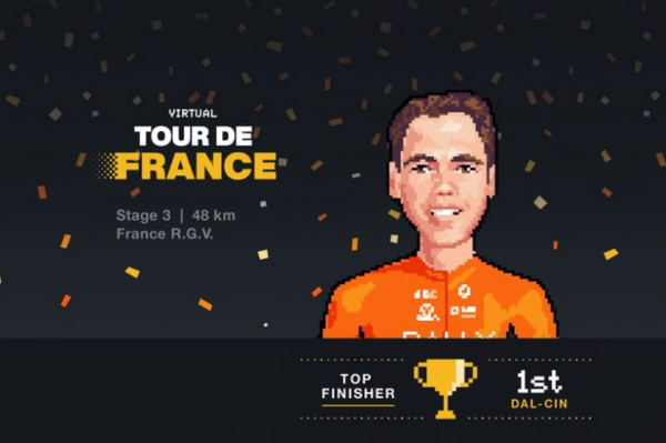 Matteo Dal-Cin Wins Stage 3 of V-TdF