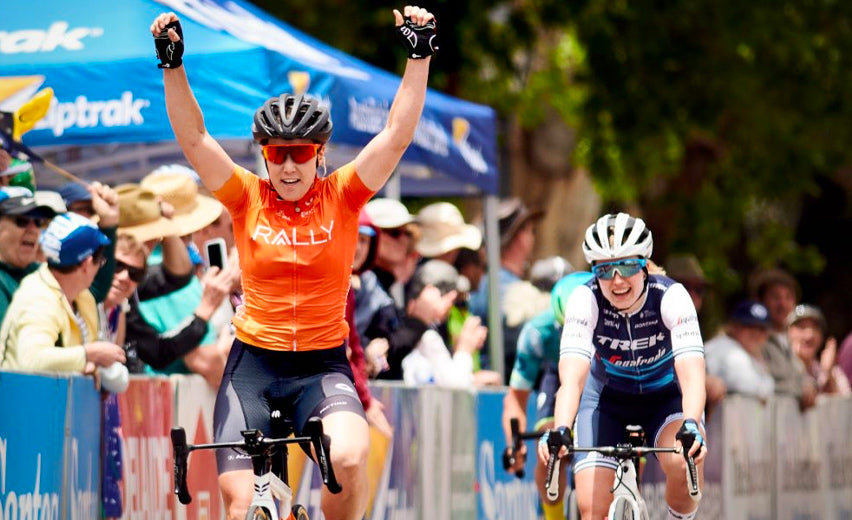 Hosking Wins Stage 1 of the Women's Tour Down Under