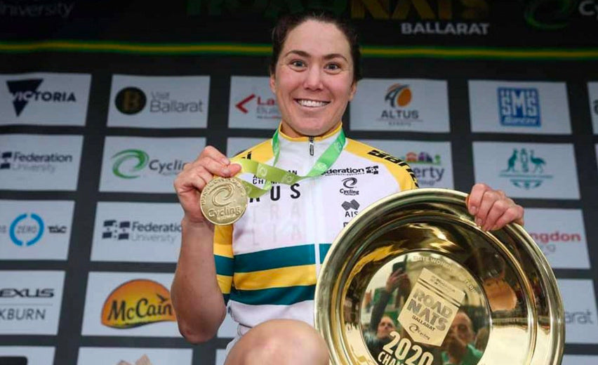 Chloe Hosking Wins Australian National Champion Criterium Title