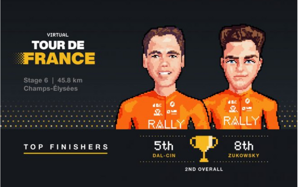 Team Secures Second Overall in V-TdF