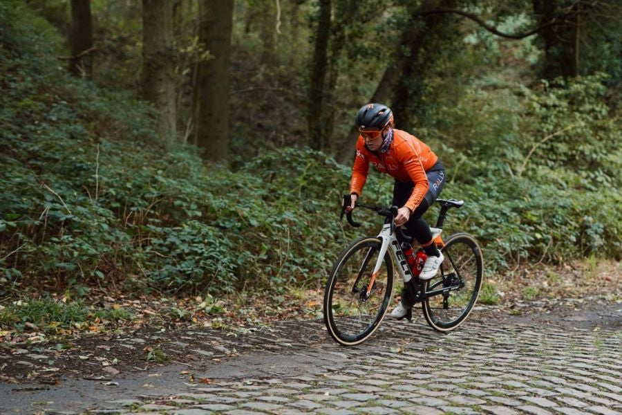 Hosking on Brabantse Pijl Recon Ride - Rally Cycling