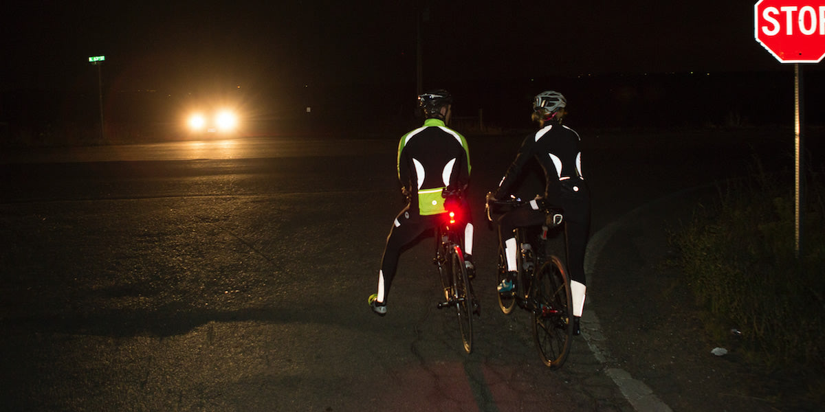 Reflective Cycling Jackets and Tights