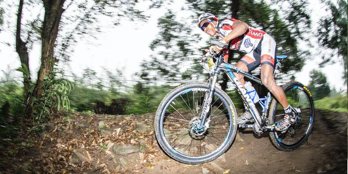 Custom cycling clothing partner for ACE Lesotho MTB Team