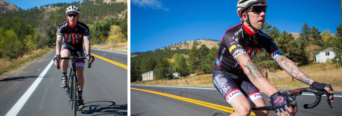 Custom Cycling Clothing for Climbing Events