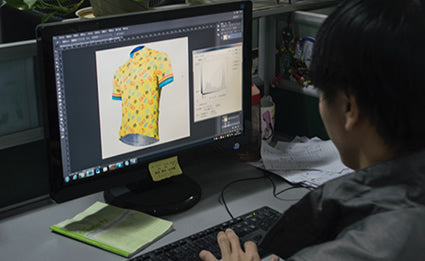 Custom cycling clothing design