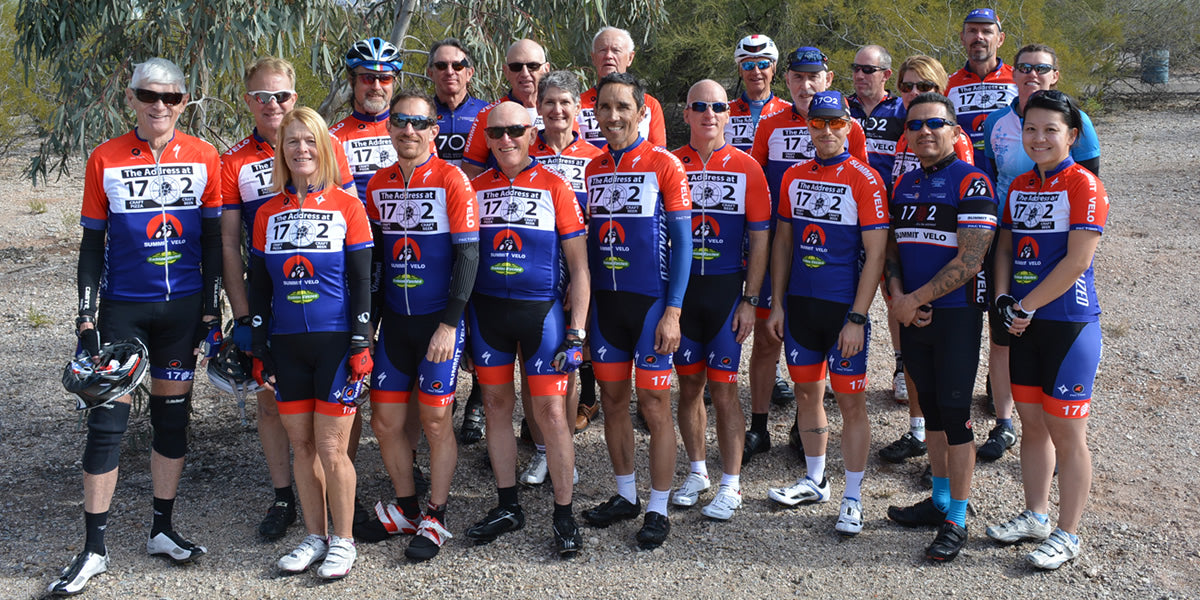 Custom cycling clothing for mixed-gender teams and clubs