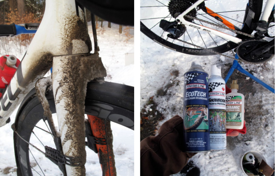 Kyle Murphy winter bike care - Rally Cycling