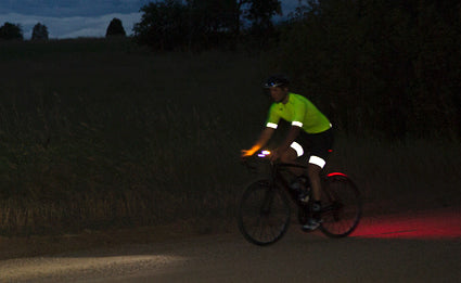 Custom cycling clothing with reflectivity