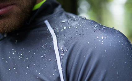Water resistant custom cycling jackets